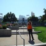 Laura at Petco Park