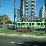San Diego - street train