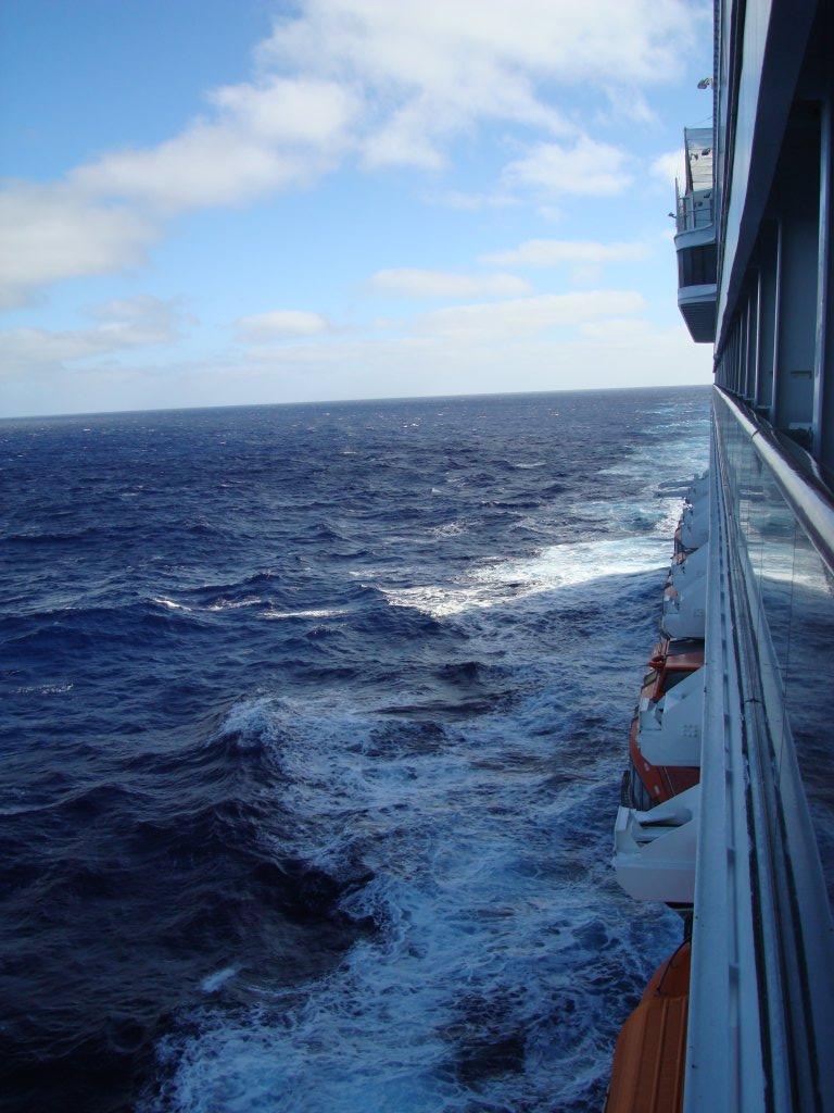 Mcandrews Family 187 Cruise Ship At Sea