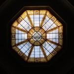 ceiling glass of the judicial center