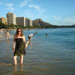 Laura on Waikiki
