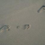 Waikiki footprints