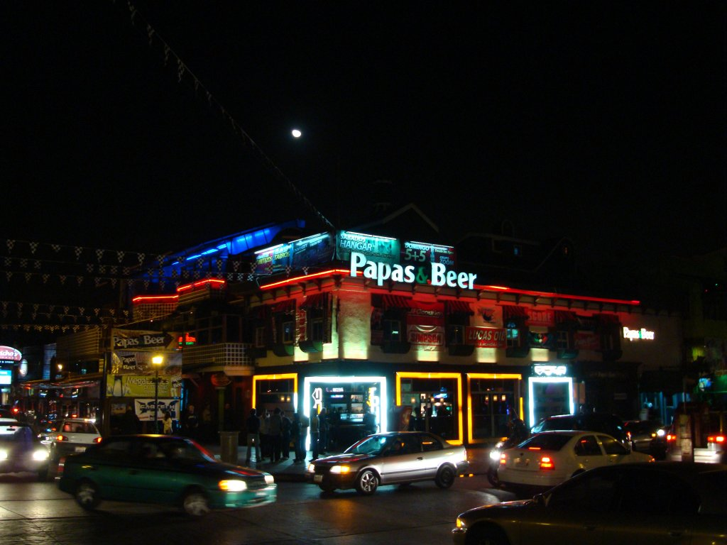 Papas And Beer Ensenada